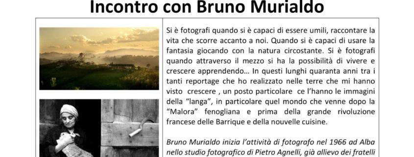 L'occhio come mestiere - BRUNO MURIALDO - 7 luglio La Morra